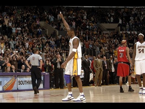 Kobe Bryant's Best Plays Through the Years
