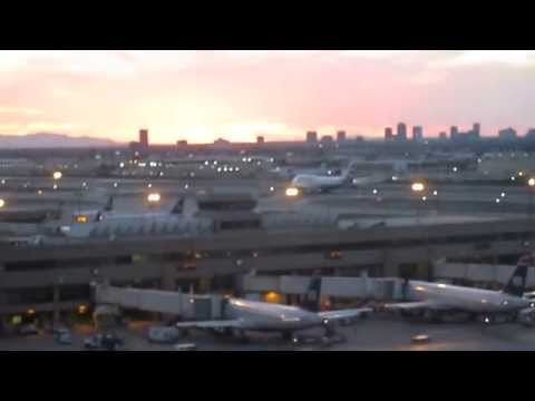 British Airways Flight 288 Takes Off From Phoenix Sky Harbor International Airport.
