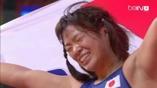 مصارعة: ذهبية وزن 63 كلغ حرة لليابانية كاواي