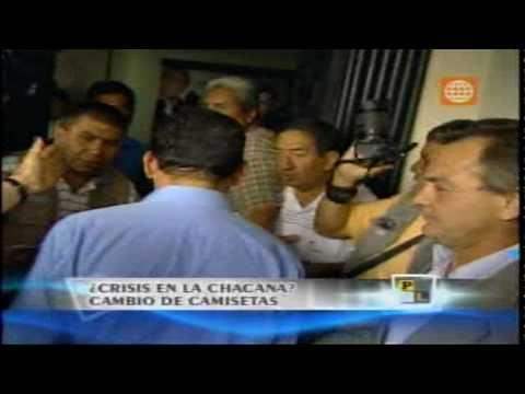 Ollanta Humala convoca a NUEVO SANCOCHADO, cambio de camisetas partidarias 18/abril/2011