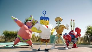 THE SPONGEBOB MOVIE SPONGE OUT OF WATER 3D-Teaser Trailer Sub Thai