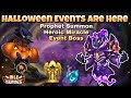 Idle Heroes (O) Halloween New Events and Skin! - Prophet Orb, Heroic Miracle and Event Boss