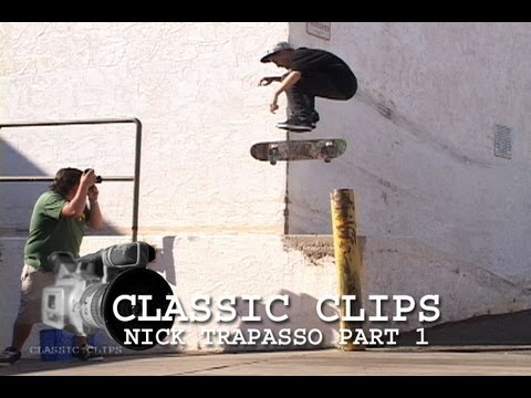 Nick Trapasso Skateboarding Classic Clips #110 Part 1 Arizona