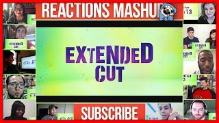 SUICIDE SQUAD Extended Cut (Reaction) Reactions Mashup