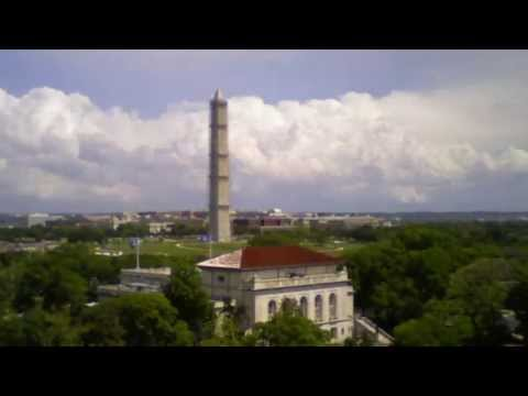 Washington Monument Scaffolding Time Lapse