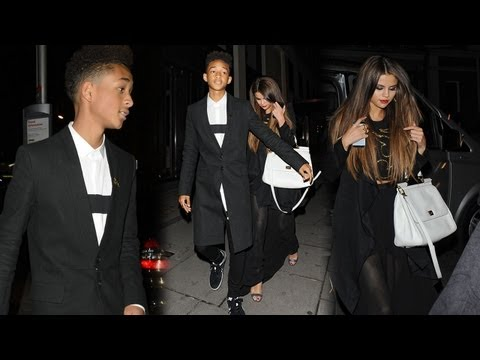 Selena Gomez & Jaden Smith Night Out in London!