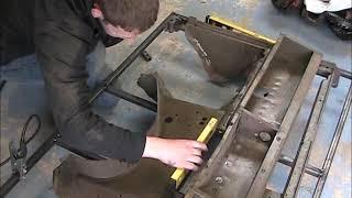 Land Rover Series 1 Rebuild Episode one - Bulkhead Repairs