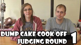 Dump Cake Cook Off Round 1