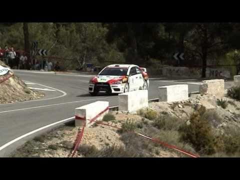 21 Rally Villajoyosa 2011. Campeonato de España de Rallys de asfalto. Tc1 y Tc3 Orxeta-Relleu, Tc6 y Tc8 Confrides-Relleu. Horquilla del pantano, curva en ba...