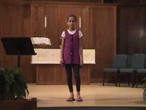 Avery Adams Singing The Lilac Tree.wmv