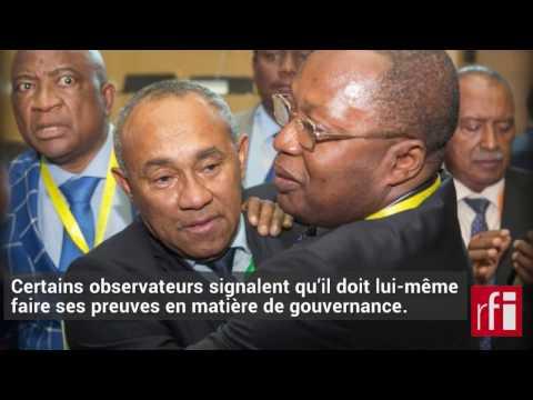 Ahmad nouveau président de la CAF à la place d'Hayatou