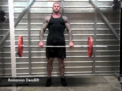 Romanian Dedlift vs Stiff-Legged Deadlift by Jim Stoppani Image 1