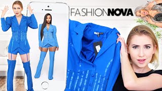 TRYING THE CARDI B COLLECTION W/ FashionNova!! .. Y'all this stuff is crazy