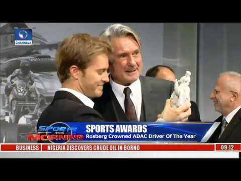 Sports This Morning Rosberg Crowned ADAC Driver Of The Year