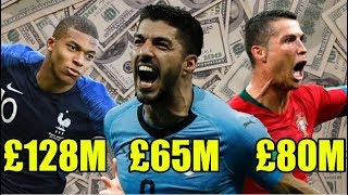 EVERY World Cup Nation's Most Expensive Player Ever