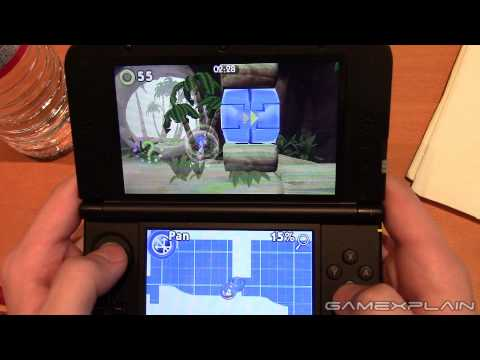Sonic Boom: Shattered Crystal - Tropical Level Gameplay w/ Direct Audio (3DS)