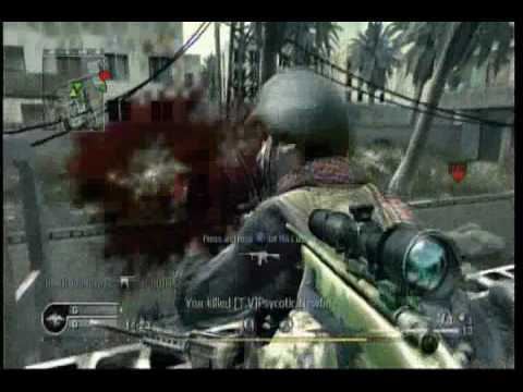Call of Duty 4: M40A3 Sniper Montage