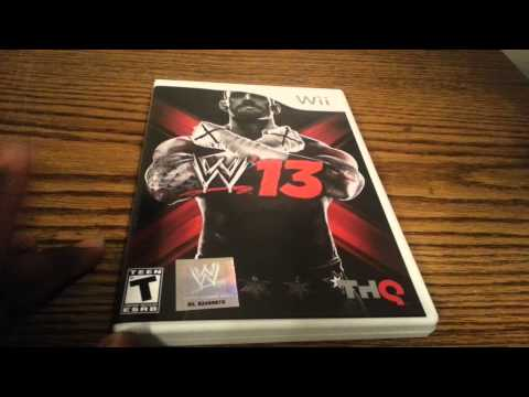 WWE 13 Unboxing/Review (Wii)