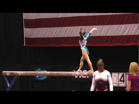 Bridget Sloan -- Balance Beam -- 2012 Visa Championships -- Sr. Women -- Day 2