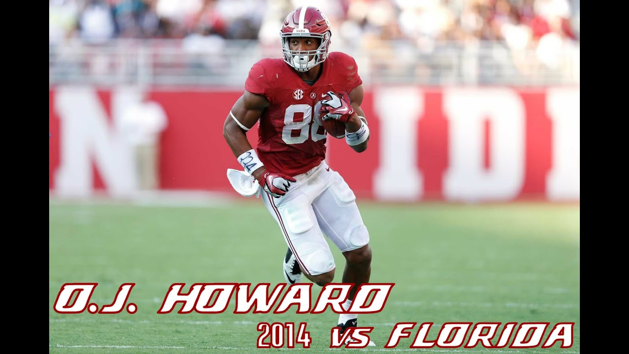 O.J. Howard vs Florida (2014)