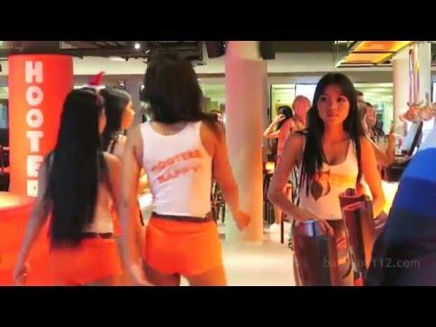 Hooters Bar - New in Bangkok, Thailand!!