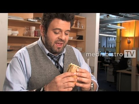 Adam Richman Makes His Favorite Sandwich