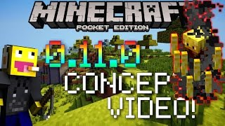 MCPE 0.11.0 HUGE MAJOR UPDATE CONCEPT + PICTURES !!