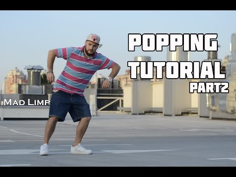 Popping Tutorials | Lesson 2 - Robot Style ( Isolation | Body Control ) Part 2