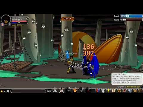 Kingkiller2013 - AQW 1v1 Ninja Class PvP with Enhancements