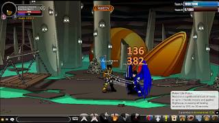 Kingkiller2013 - AQW 1v1 Ninja Class PvP with Enhancements