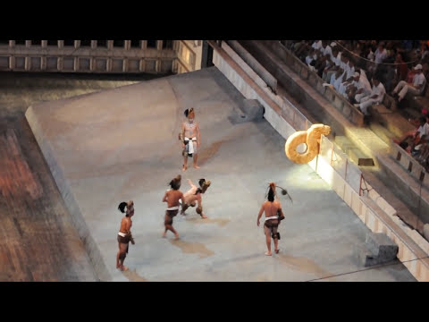 Xcaret - Pok-ta-Pok - Mayan ball game