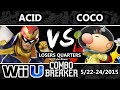Combo Breaker - Coco (Olimar) Vs. Acid (Captain Falcon) SSB4 Losers Quarters - Smash Wii U - Smash 4