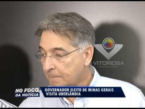 Governador eleito por MG, Pimentel visita Uberlândia