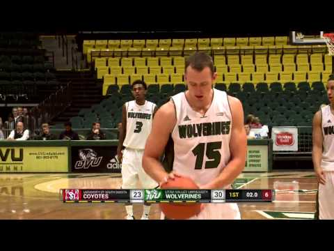 NCAA Basketball: South Dakota at Utah Valley