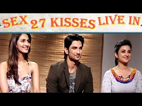 Parineeti Chopra, Sushant Talk About Physical Relationship, Sex, 27 Kisses In Shuddh Desi Romance video
