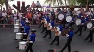 C.R.U. Marching Band 2013 @ Pattaya