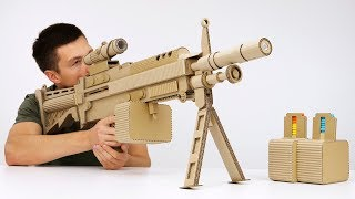 How to Make Highly Detailed Cardboard Gun