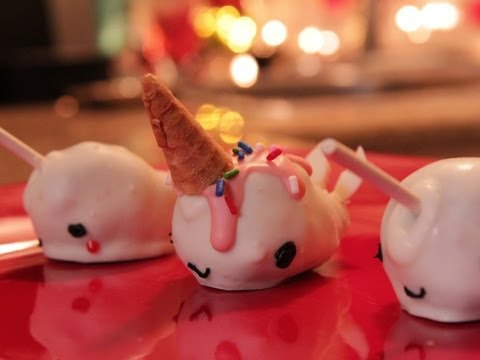 How to make Narwhal Cake Pops - QUAKE N BAKE