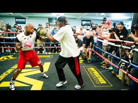Floyd Mayweather - Open Workout Live Stream - Tue 9/2 - SHOWTIME Boxing