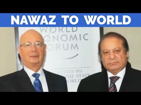 Nawaz Sharif's Message to World Economic Forum