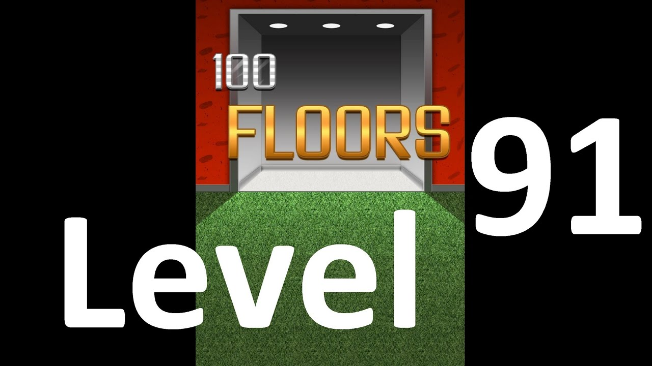 100 Floors Level 91 Floor 91 Solution Walkthrough Youtube