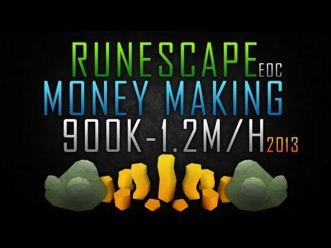 RuneScape EoC Money Making 900k-1.2M/H w/Commentary 2013!