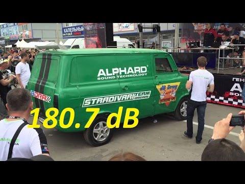 Автозвук Новый рекорд России 179.1dB побит 180.7 dB Страдивари Оригинал