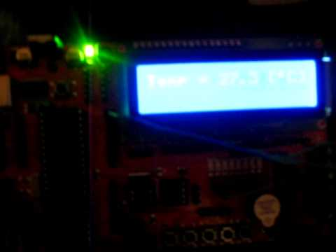 Elektronika| Termometr cyfrowy DS18B20 atmega32