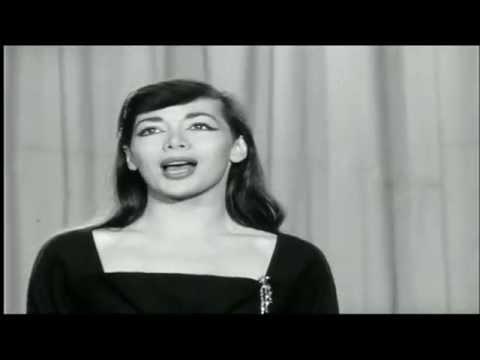 Juliette Gréco * Chanson pour l'auvergnat  * 1956