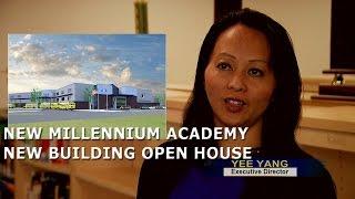 3HMONGTV: New Millennium Academy new building Open House in Brooklyn Center, MN.