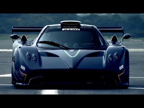 Pagani Zonda R - Top Gear - BBC