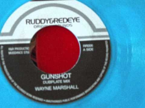 WAYNE MARSHALL - GUNSHOT + gunshot riddim dubplate mix