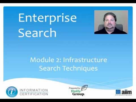 Infrastructure Search Techniques