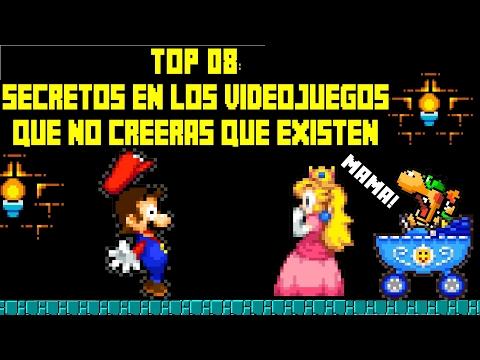 Top 8: Secretos en Los Videojuegos que No Creeras que Existen - Pepe el Mago